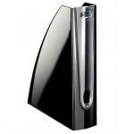 Накопитель вертикальный для бумаг Leitz Allura А4, 75мм, черный