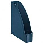 Накопитель вертикальный для бумаг Leitz ReCycle А4, 78мм, синий, 24770069