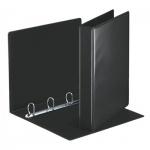 Папка-панорама на 4-х кольцах Esselte черная, А4, 50 мм, 49717