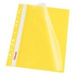 Скоросшиватель с перфорацией Esselte, А4, 10 шт/уп, желтый