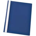 Скоросшиватель пластиковый Esselte, А4, 5 шт/уп, синий