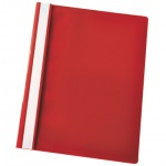 Скоросшиватель пластиковый Esselte, А4, 5 шт/уп, красный