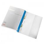 Скоросшиватель пластиковый Esselte Панорама синий, А4, 28363