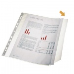 Файл-вкладыш А4 с клапаном Esselte 100 мкм, 10 шт/уп, 17939