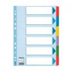 Цветовой разделитель листов Esselte Mylar 6 разделов, А4, 100168