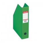 Накопитель вертикальный для бумаг Esselte А4, 70мм, зеленый