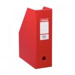 Накопитель вертикальный для бумаг Esselte А4, 100мм, красный