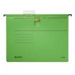 Папка подвесная стандартная А4 Leitz Alpha зеленая, 19840055