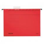 Папка подвесная стандартная А4 Leitz Alpha Стандарт красная, 19850025