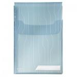 Файл-папка А4 Leitz CombiFile синяя, 200 мкм, 3 шт/уп, 47270035
