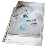 Файл-карман А4 с расширением Leitz прозрачный, 170 мкм, 3 шт/уп, 47553003