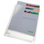 Файл-карман А4 с расширением Leitz прозрачный, 170 мкм, 5шт