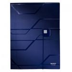 Пластиковая папка на резинке Leitz Prestige, A4, до 150 листов, синая