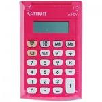 Калькулятор карманный Canon AS-8 розовый, 8 разрядов