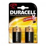 Батарейка Duracell Basic C/LR14, 1.5В, алкалиновые, 2шт/уп