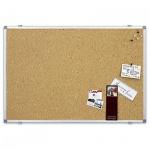 Доска пробковая Magnetoplan 12177 60х45см, коричневая, алюминиевая рама