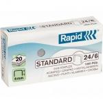 Скобы для степлера Rapid Standard 248 1M №24/6, стальные, 1000 шт