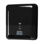 Диспенсер для полотенец в рулонах Tork Elevation H1, 551108, сенсорный, черный