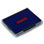 Сменная подушка прямоугольная Trodat для Trodat 4927/4727/4957/4757, синяя-красная, 6/4927/2