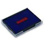 Сменная подушка прямоугольная Trodat для Trodat 4755/4941/4750, синяя-красная, 6/4750/2