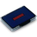 Сменная подушка прямоугольная Trodat для Trodat 5465/5460, синяя-красная, 6/56/2