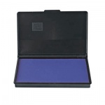 Штемпельная настольная подушка Trodat 160х90мм, краска на водной основе, синяя