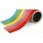 Лента магнитная для магнитной доски Magnetoplan 1х100см, красная, красная