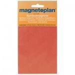 Магниты Magnetoplan 15мм, 30шт/уп, красные