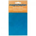 Магниты Magnetoplan 15мм, 30шт/уп, синие