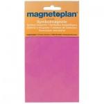 Магниты Magnetoplan 15мм, 30шт/уп, фиолетовые