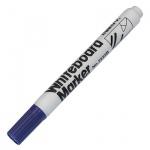 Маркер для досок Marvy 7222В синий, 1.5-3мм, круглый наконечник