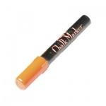 Маркер меловой Marvy 480 неоновый оранжевый, 1.5-6мм, круглый наконечник, для окон и темных досок
