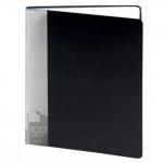 Папка файловая Бюрократ, А4, на 100 файлов, черная