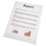 Папка-уголок Esselte прозрачная, A4, 115мкм, 10 шт/уп, 54820