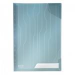 Папка-уголок Leitz CombiFile Premium синяя, A4, 200мкм, 3 шт/уп, 47280035