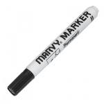 Маркер перманентный Marvy 482В черный, 1-3мм, круглый наконечник
