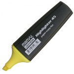 Текстовыделитель Marvy М-45 желтый, 1-5мм, скошенный наконечник