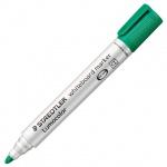 Маркер для досок Staedtler Lumocolor, 2мм, зеленый