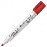 Маркер для досок Staedtler Lumocolor, 2мм, красный