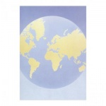 Дизайн-бумага Decadry Classic Collection Земля, А4, 80г/м2, 100 листов