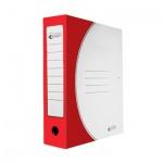Архивная папка на завязках Промтара Офис Стандарт красная, А4, 75 мм, 323к