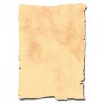 Дизайн-бумага Decadry Corporate Line Мрамор золотой фигурный, А4, 95г/м2, 10 листов