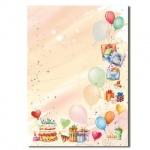 Дизайн-бумага Decadry Вечеринка, А4, 90г/м2, 20 листов