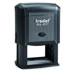 Оснастка для прямоугольной печати Trodat Printy 60х40мм, черная, 4927