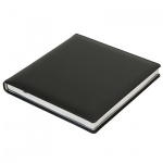 Ежедневник недатированный Brunnen Квадро Софт черный, А5, 144 листа