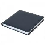 Ежедневник недатированный Brunnen Квадро Софт синий, А5, 144 листа