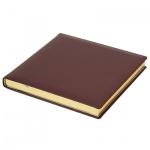 Ежедневник недатированный Brunnen Квадро Софт бордовый, А5, 144 листа