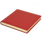 Ежедневник недатированный Brunnen Квадро Софт красный, А5, 144 листа