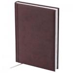 Ежедневник недатированный Brunnen Агенда Торино, А5, 160 листов, бордовый