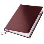 Ежедневник полудатированный Brunnen Гранд де Люкс Ля-Фонтейн бордовый, А6, 176 листов